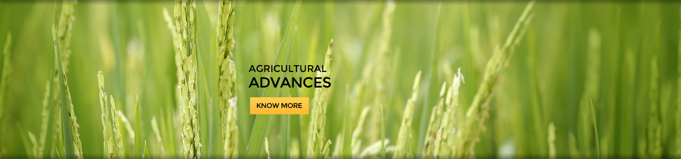 Agricultural Advances