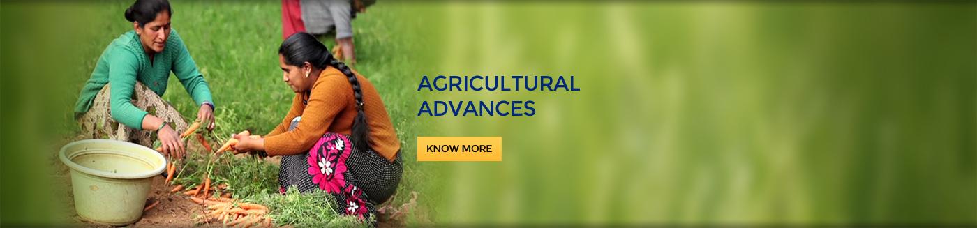 Agricultural Advances